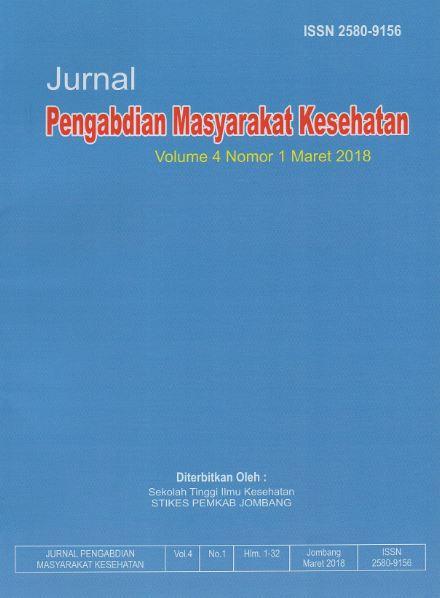Jurnal Pengabdian Masyarakat - STIKES Pemkab Jombang